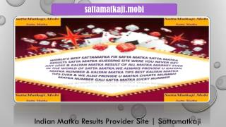 Play Your Favorite Matka Game in India by SattaMatkaji