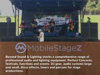 Best Event Stage - Mobile Stagez