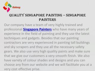 Quality Singapore Painting – Singapore Painters
