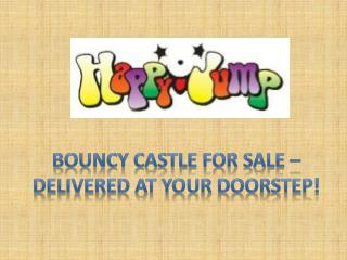 Bouncy castle for sale – delivered at happyjump.com