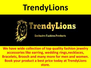 Shop Top Quality Fashion Rings Online - TrendyLions