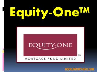 Fixed Interest Deposits - Equity-One.com