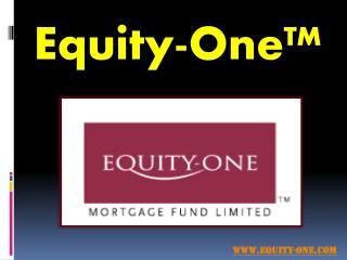 Fixed Interest Deposits - Equity-One.com
