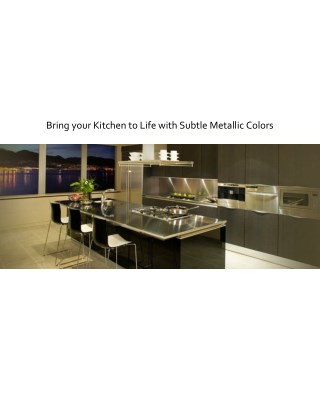 Adding Life to Kitchen with Stunning Kitchen Appliances