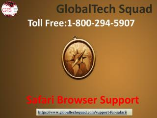 Safari Browser Support with GlobalTech Squad