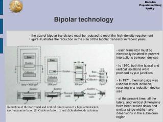 Bipolar technology