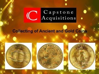 Collecting of Ancient and Gold Coins