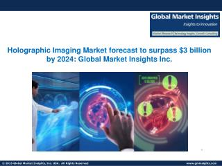 Holographic Imaging Market to grow at 30% CAGR from 2017 to 2024