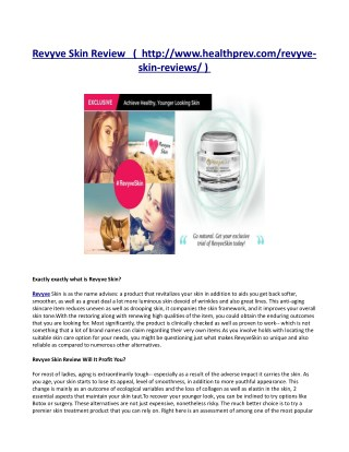 http://www.healthprev.com/revyve-skin-reviews/