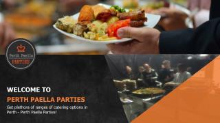 Best Tapas perth - Perth Paella Parties
