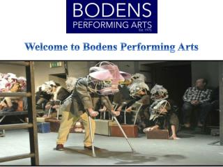 Welcome to Bodens Performing Arts
