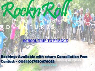 School Trip To France - Book Now