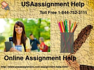 Online assignment help  | USAassignment