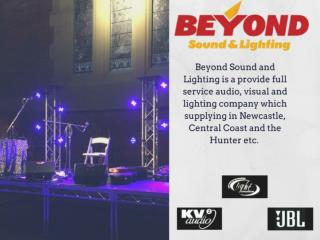 Hire Amplifiers - Beyond Sound & Lighting
