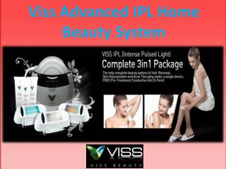 Viss Advanced IPL Home Beauty System