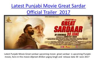 Great Sardar Official Trailer  2017