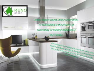 Bathroom Renovation Services - Reno Import