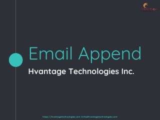 HTI Email Append
