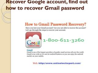 Gmail tech support customer number | 1800-611-3260