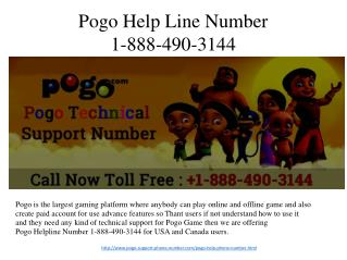 Pogo Helpline Number