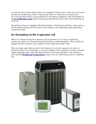 Air Conditioning Repair Alerts