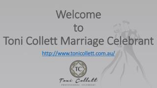 Sunshine Coast Wedding Celebrant |Toni Collett
