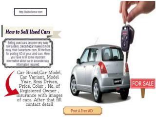 Old Car Selling Tips Online
