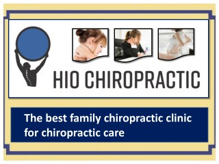 Get basic chiropractic adjustments for best chiropractic care