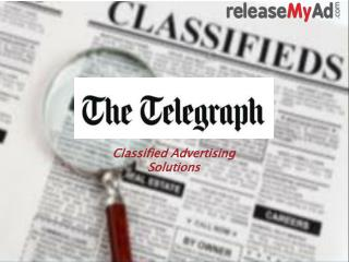 The Telegraph Obituary Advertisement Booking Online.