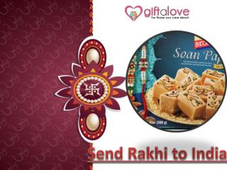 Send Rakhi to India via Rakhi.giftalove .com