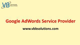 Google AdWords Service Provider