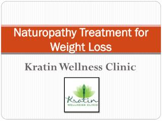 Kratin Wellness Clinic Offers Naturopathy Treatment for Weight Loss