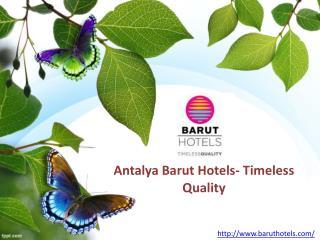 Luxury Stay In Antalya
