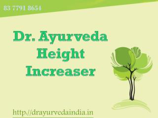 Dr.Ayurveda | Dr Ayurveda Height Increaser