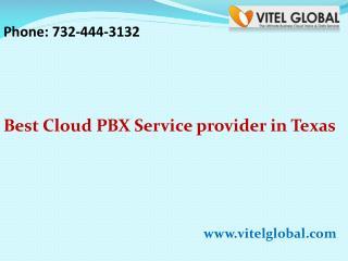 Best Cloud PBX Service provider in Texas