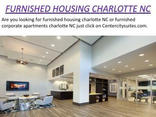 Furnished Housing Charlotte NC - centercitysuites.com