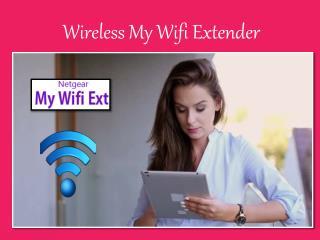 Wireless My Wifi Extender