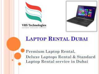 Laptop Rental Dubai