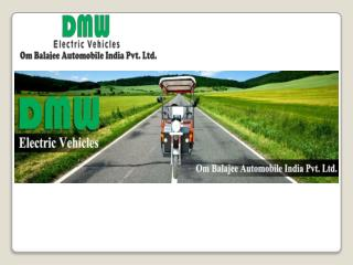E rickshaw manufacturer in India