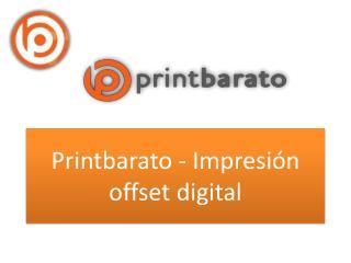 Printbarato - Impresión offset digital