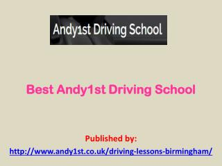 Best Andy1st Driving School
