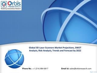 Global 3D Laser Scanners Market Worth  $7.2 Billion by 2022