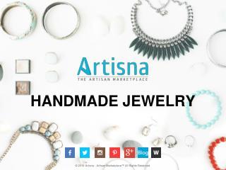 6 Reasons to Choose Artisna for Handmade Jewelry