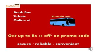 Busmela :: Online Bus Ticket Booking in India | Lowest Fares