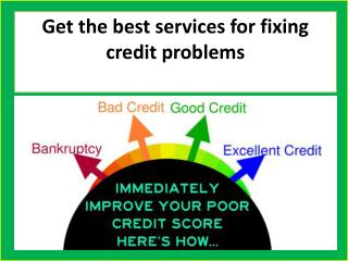 Choose Lexington law credit repair services
