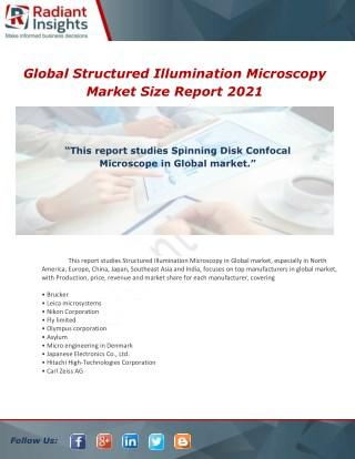 Structured Illumination Microscopy Market  Market Analysis 2017-2021