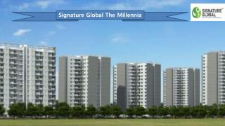Signature Global the Millennia Apartments Price List Call 09953592848