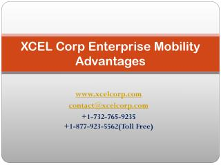 XCEL Corp Enterprise Mobility Advantages