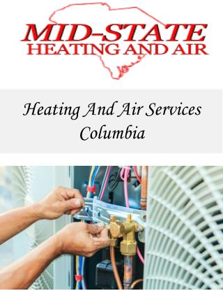 Heating And Air Services Columbia