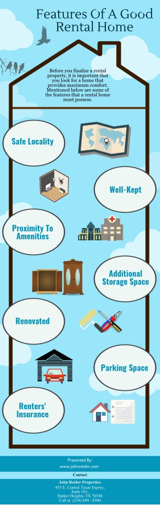 Features Of A Good Rental Home